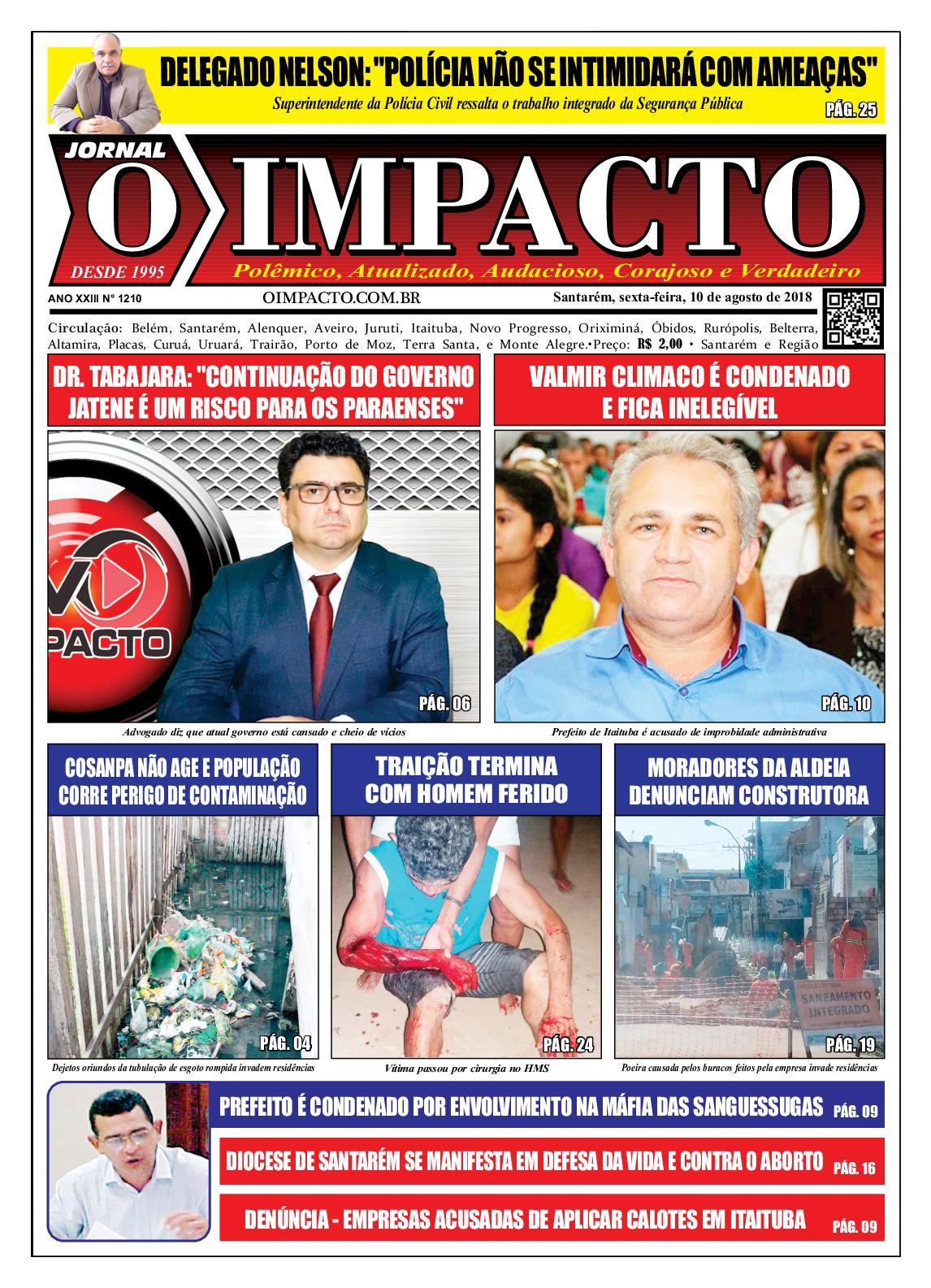 Anelise Pelada calaméo - jornal o impacto ed. 1210
