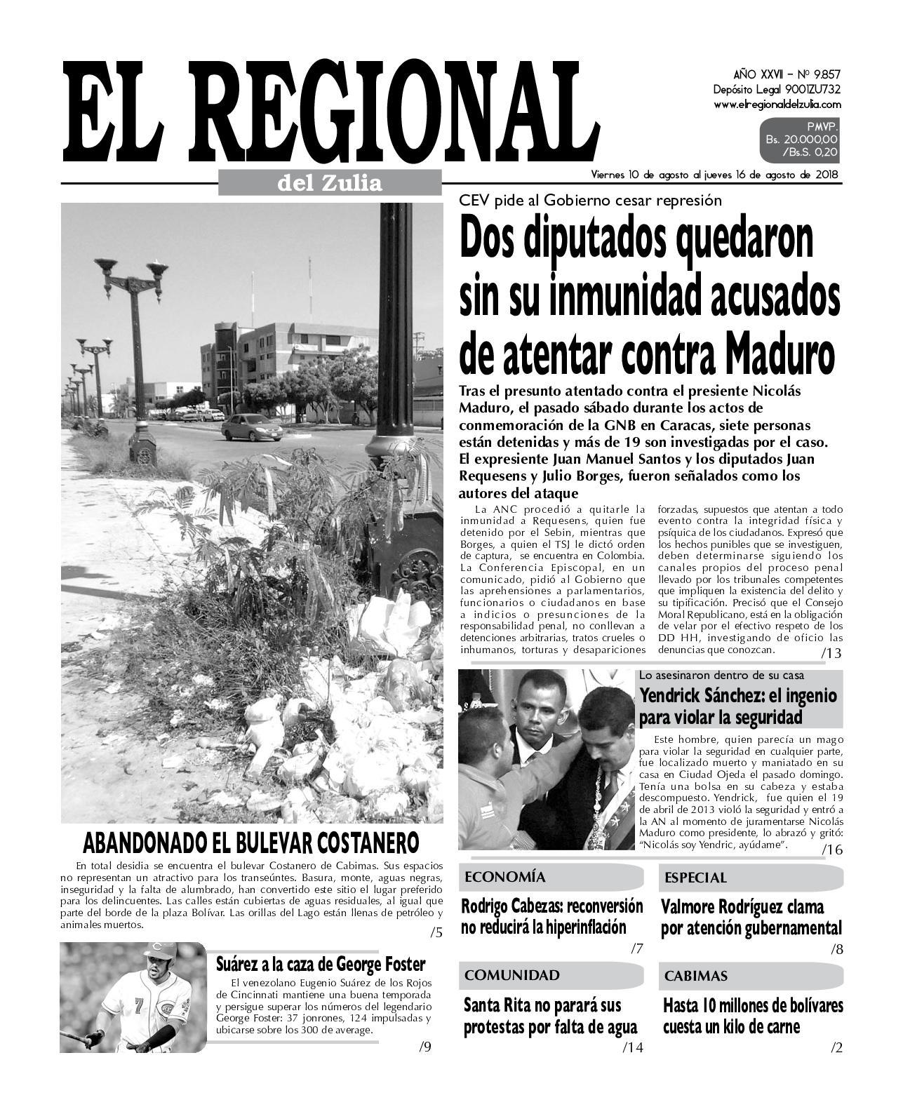 Calaméo El Regional del Zulia 10 08 2018