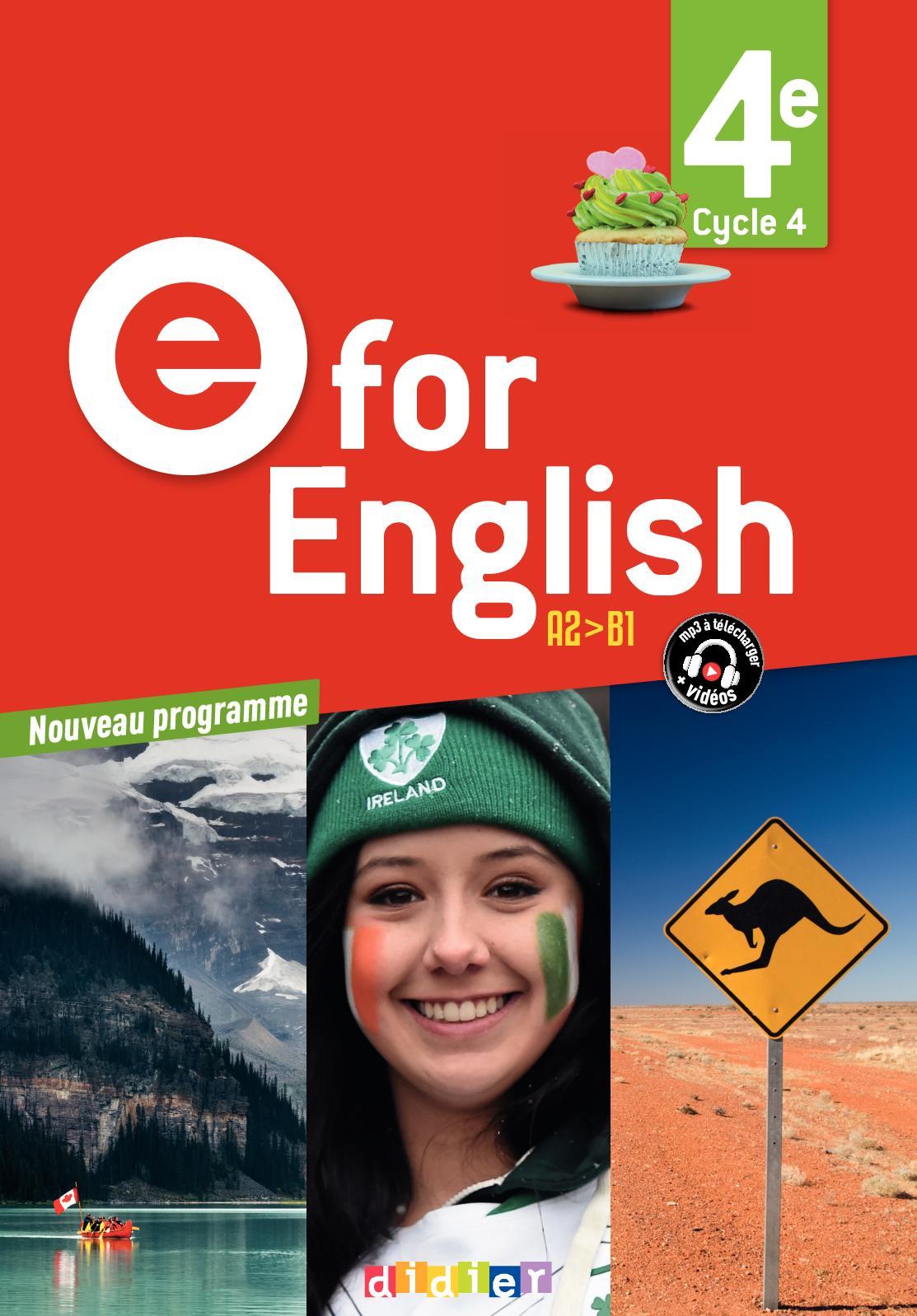 Calameo Extrait E For English 4e