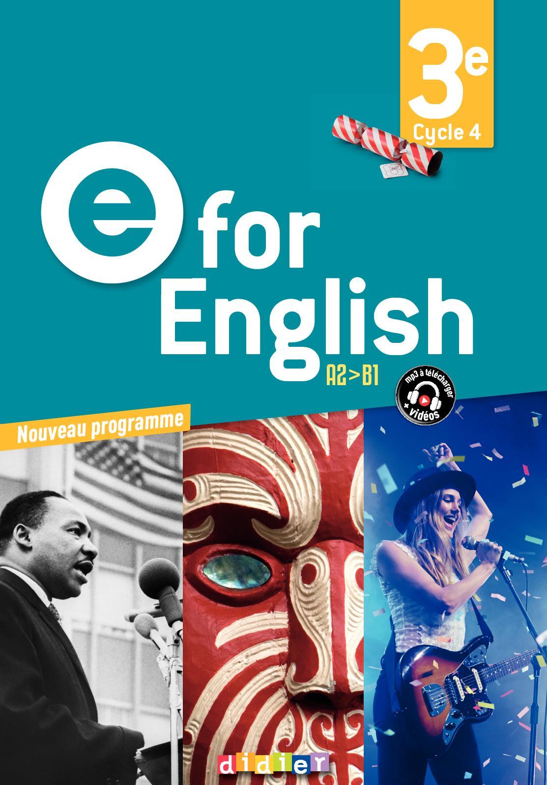 Calameo Extrait E For English 3e