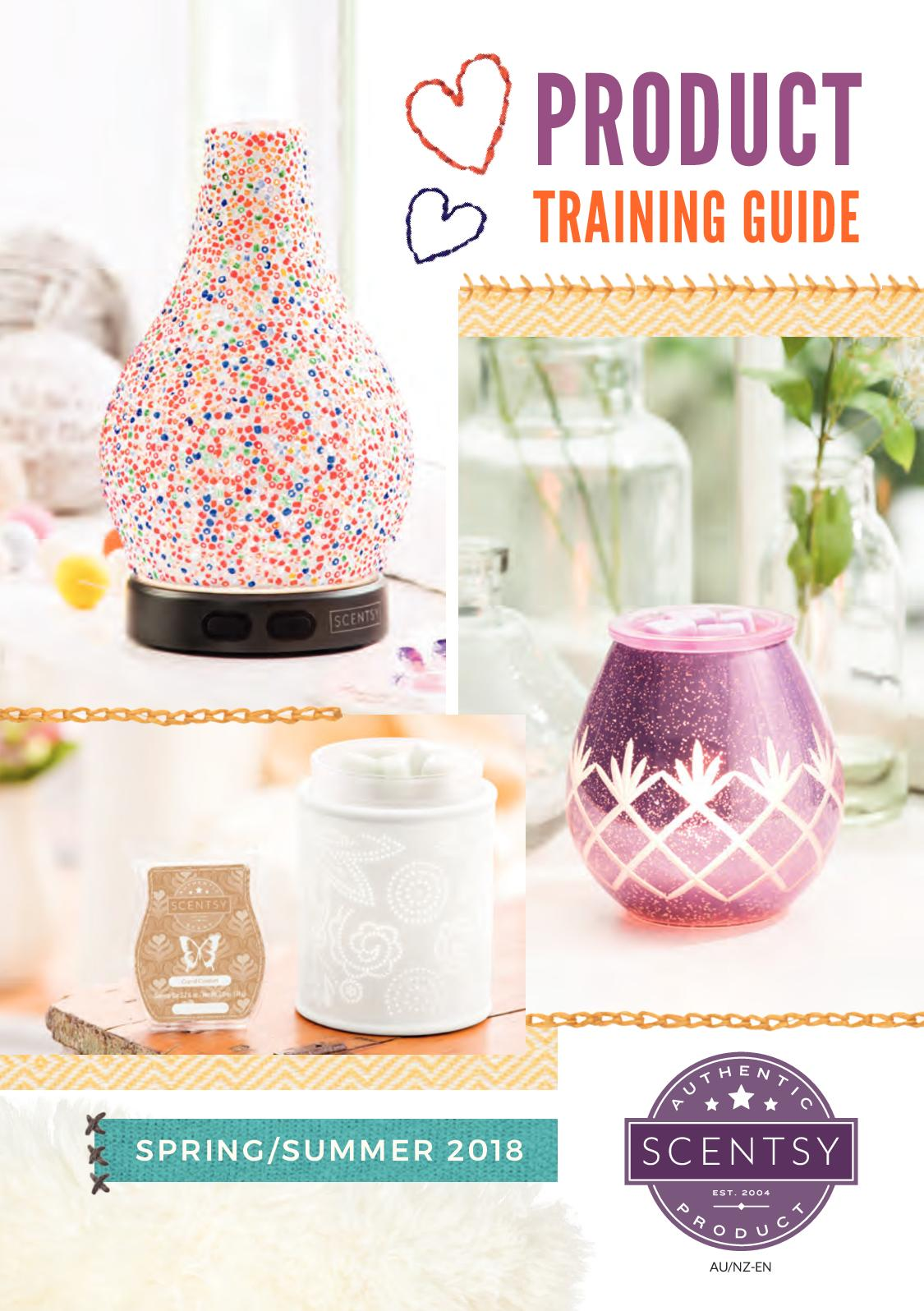 Calaméo Scentsy Product Training Guide Aus Nz 2018