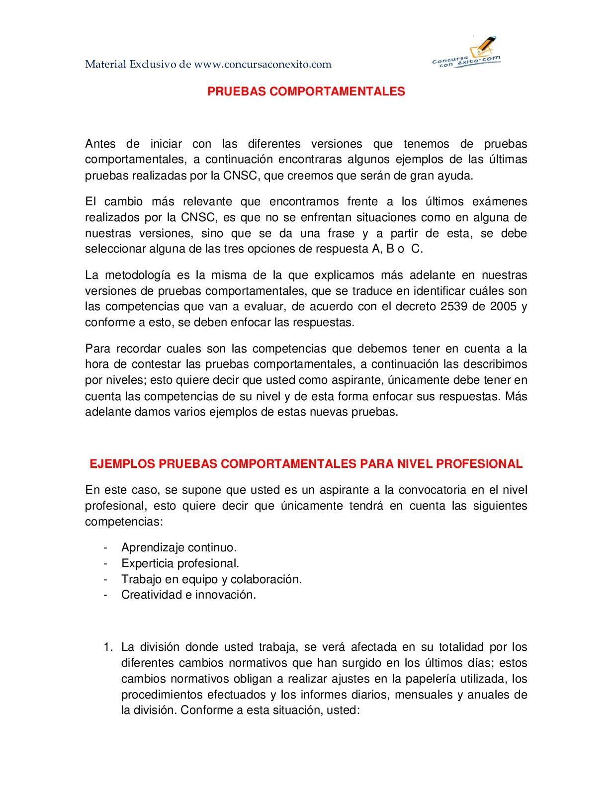 320960646 Pruebas Comportamentales Concursos Publicos