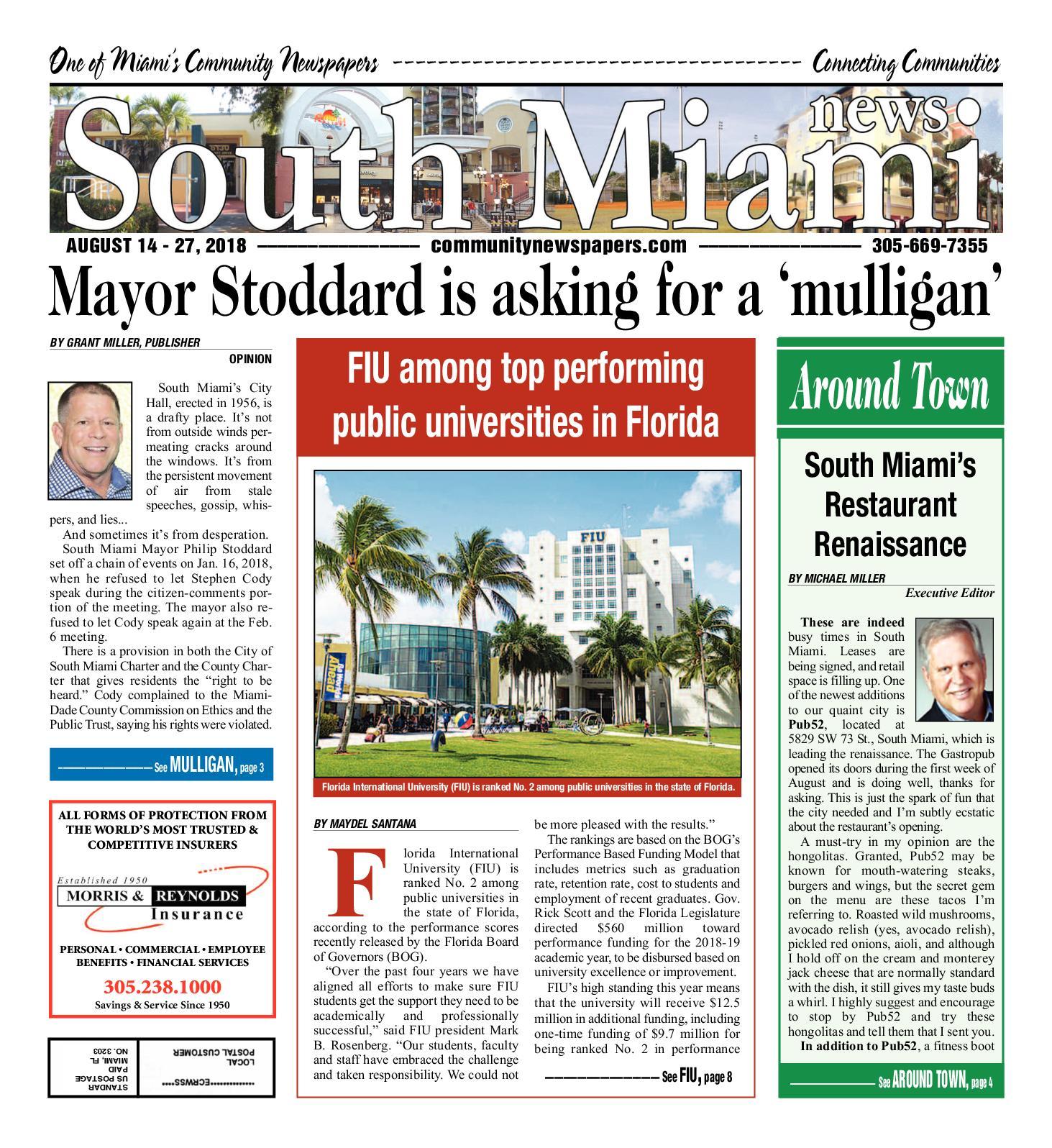 Calaméo - South Miami 8 14 2018