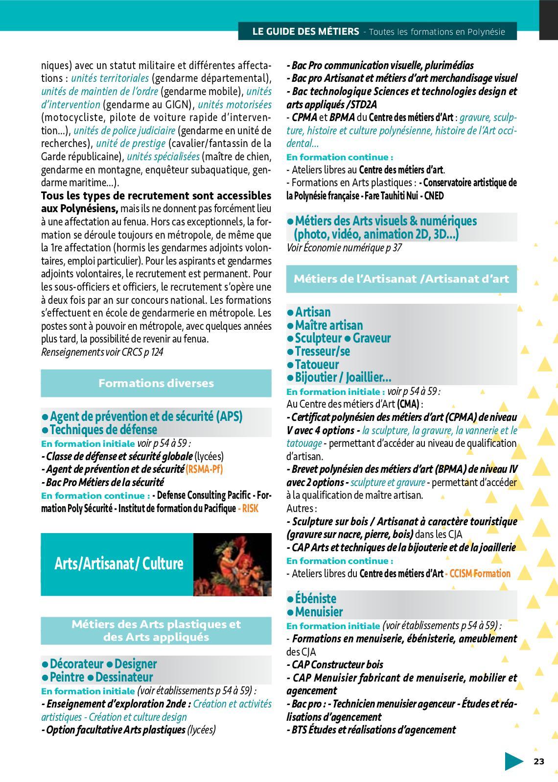 Formation Menuiserie D Art guide des métiers 2018-19 - calameo downloader