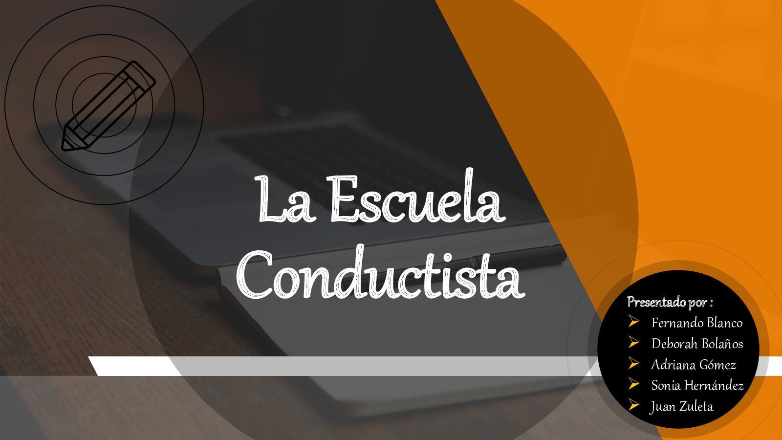 Calaméo Escuela Conductista