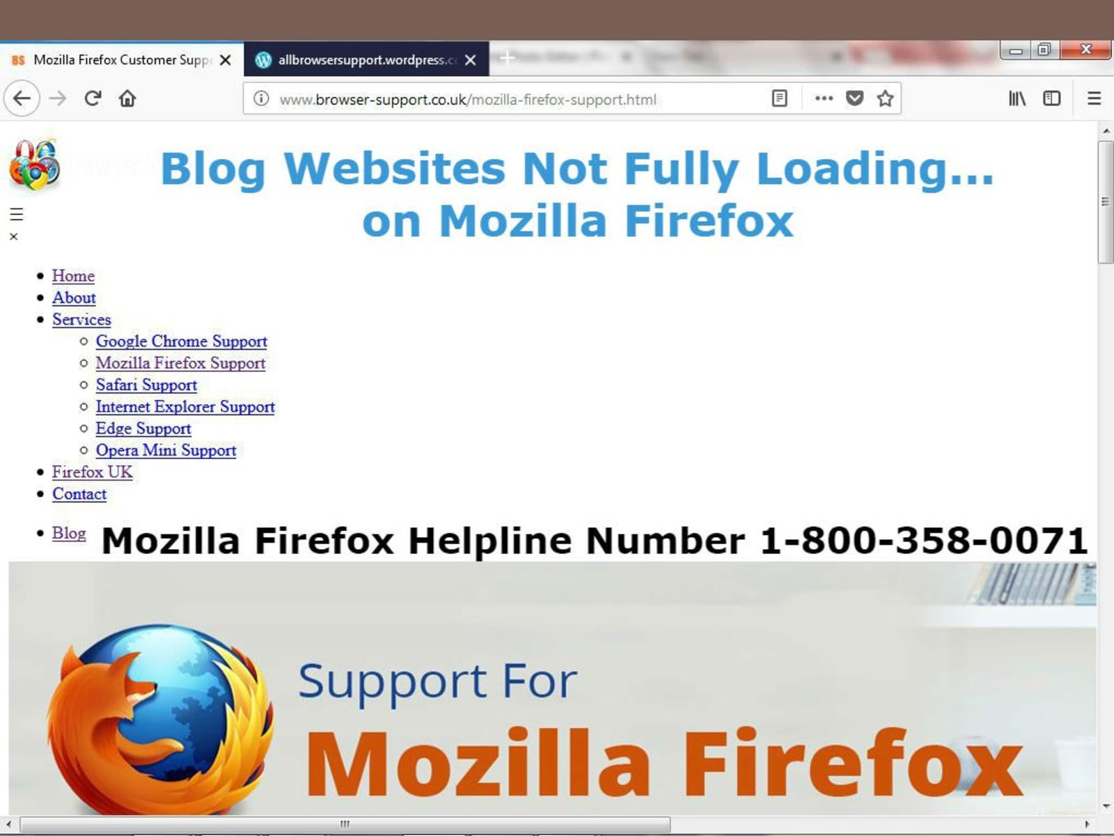 Calaméo - Websites not loading on Mozilla Firefox Helpline 1-800-358