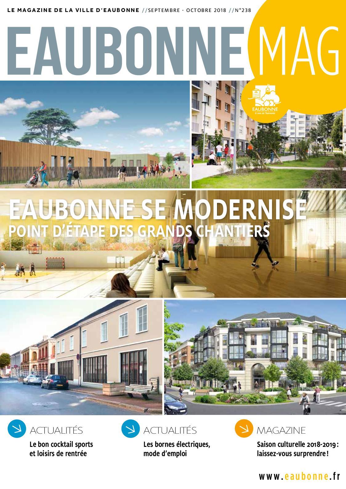 Calameo Eaubonne Mag Septembre Octobre 2018 N 238