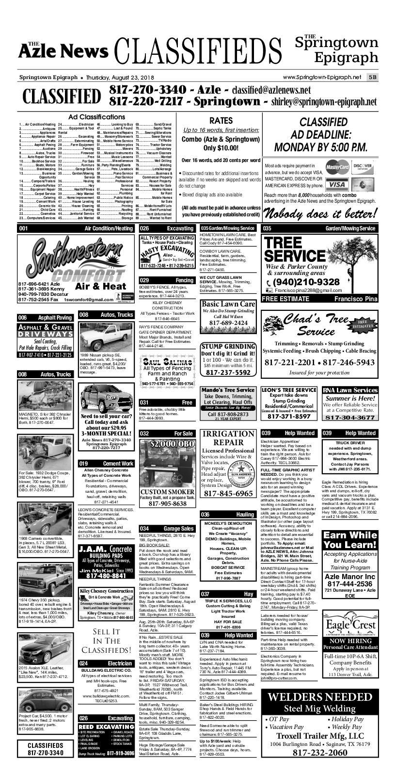 Calaméo - Classified Ads