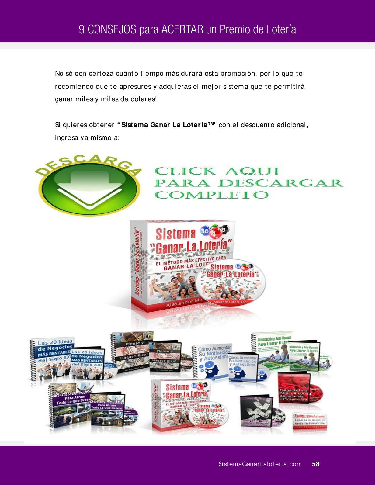 SISTEMA GANAR LA LOTERIA FULL - CALAMEO Downloader