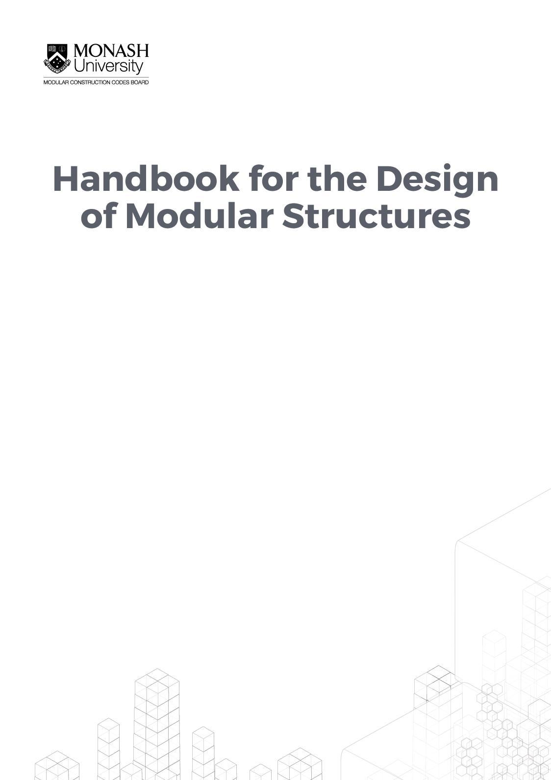 Handbook For The Design Of Modular Structures Calameo Downloader