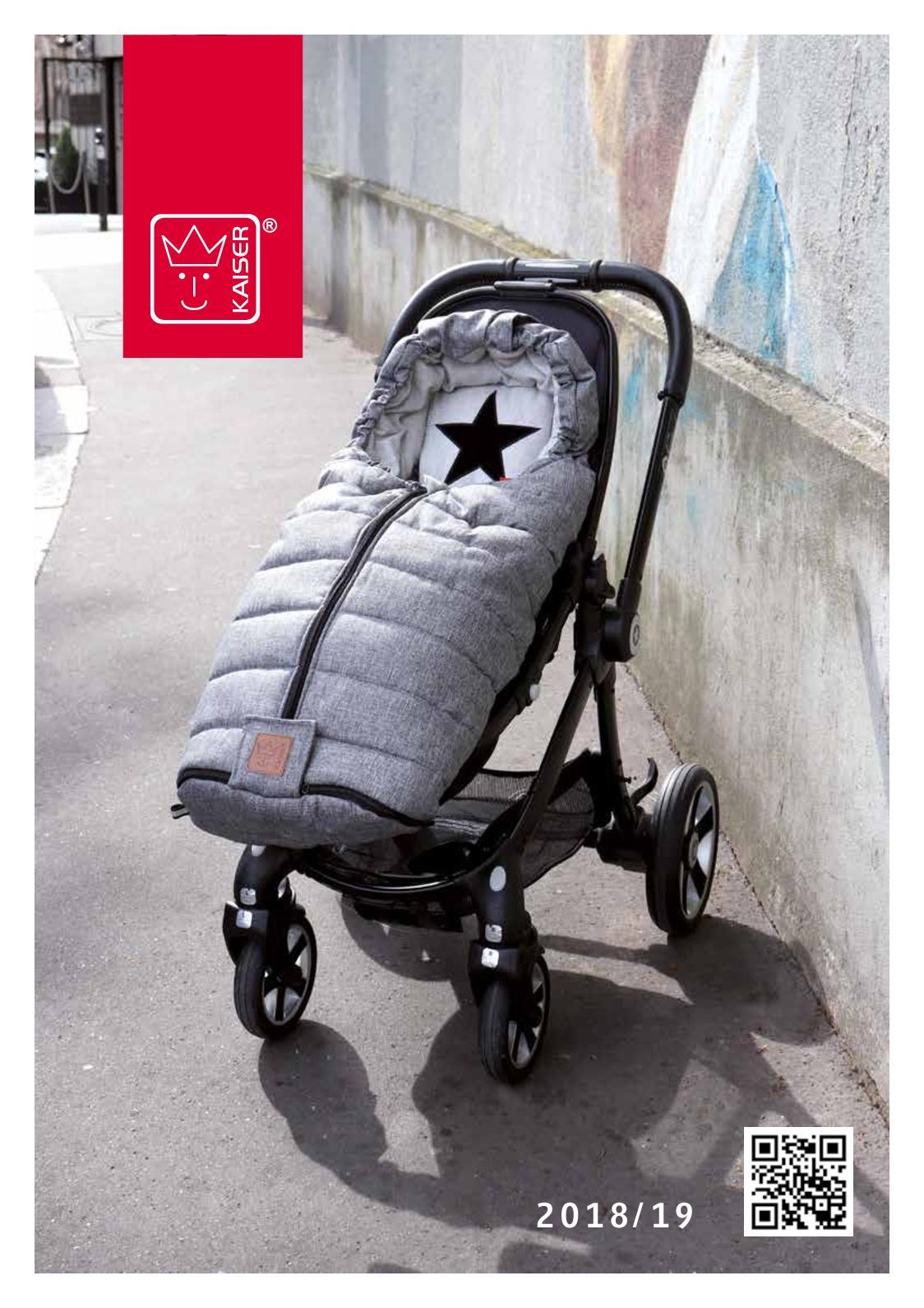 grey Babyschalenfu/ßsack Star Print Outside