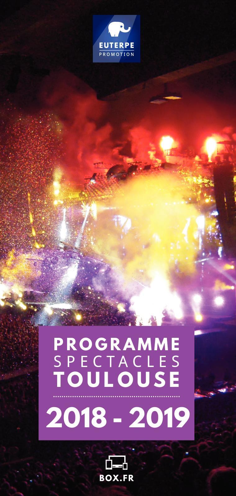 Spectacles 20182019 Calaméo Calaméo Toulouse Programme Programme xthrsQdBC
