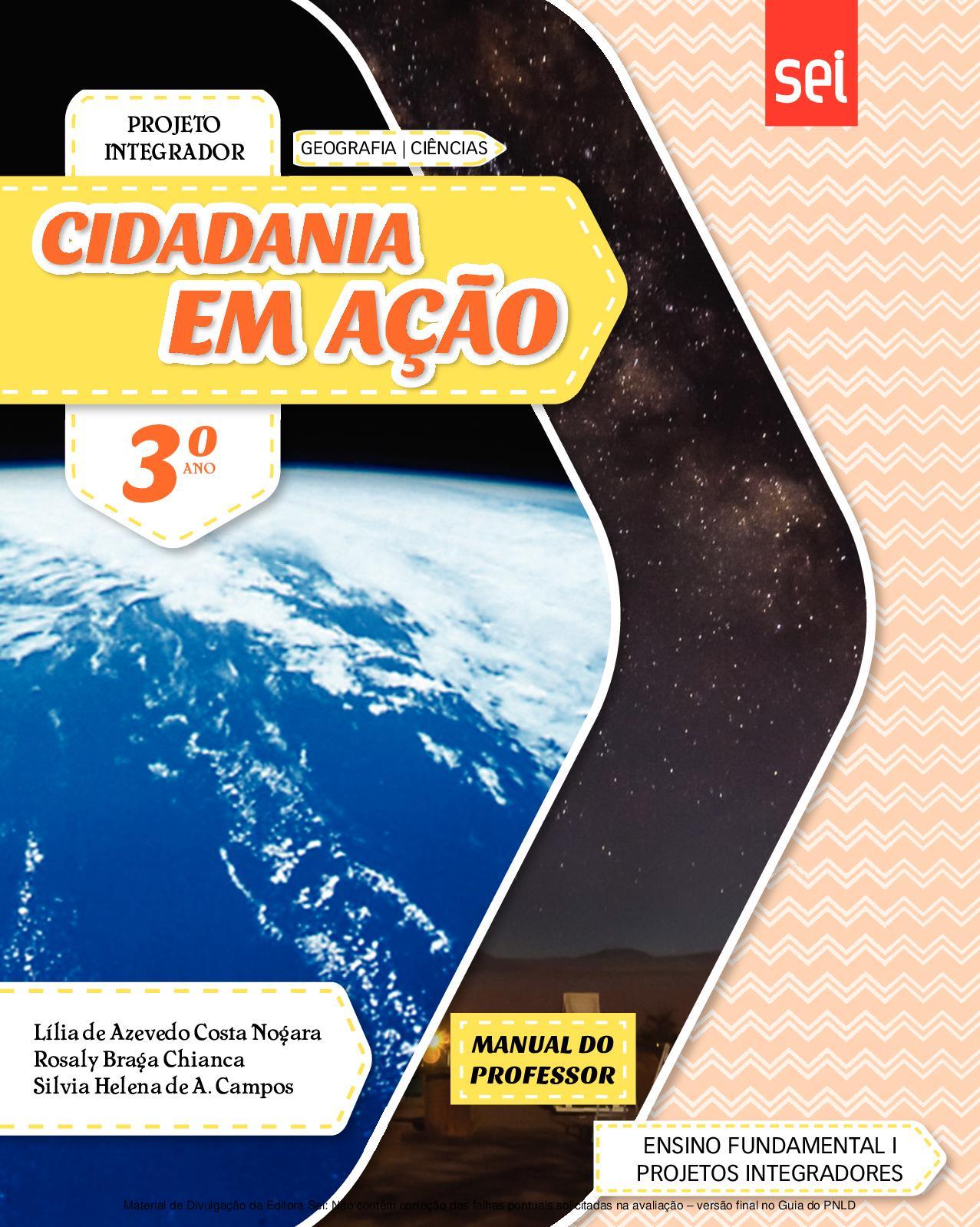 ba1c28467b Calaméo - Projetos Integradores Cidadania em Ação - Volume 3º ano PROFESSOR