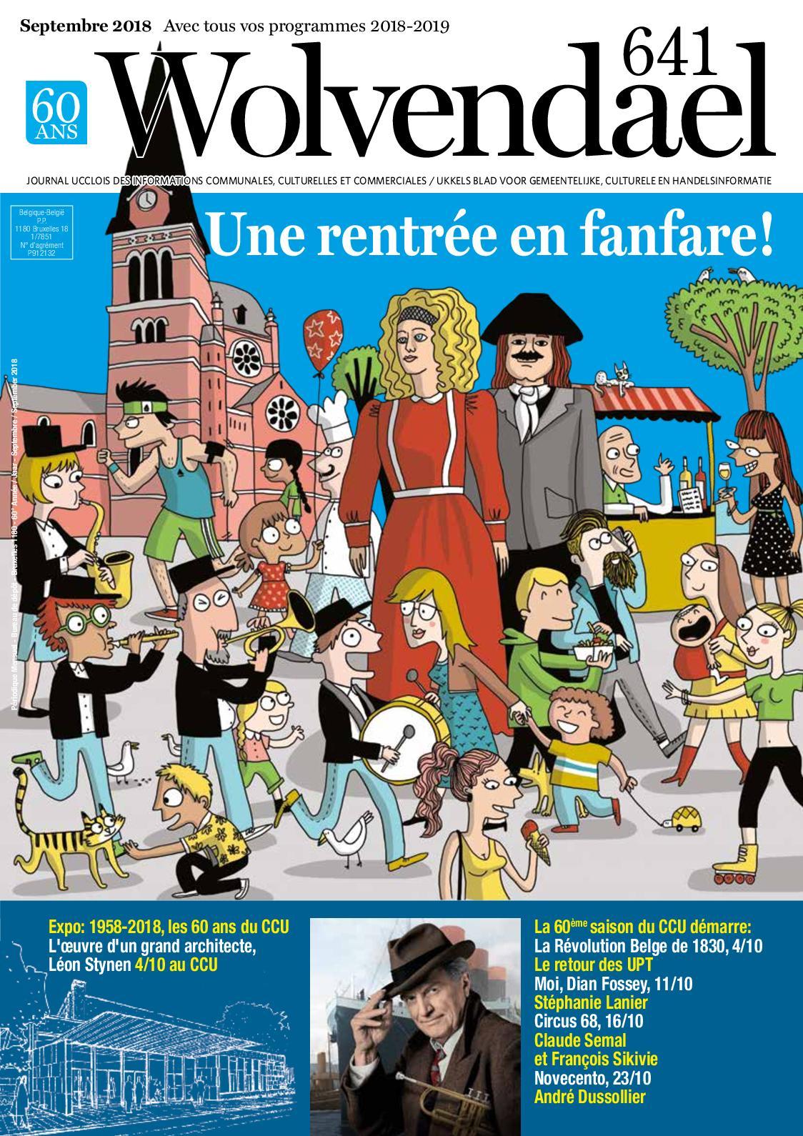 Calaméo Wolvendael Magazine N641 Septembre 2018