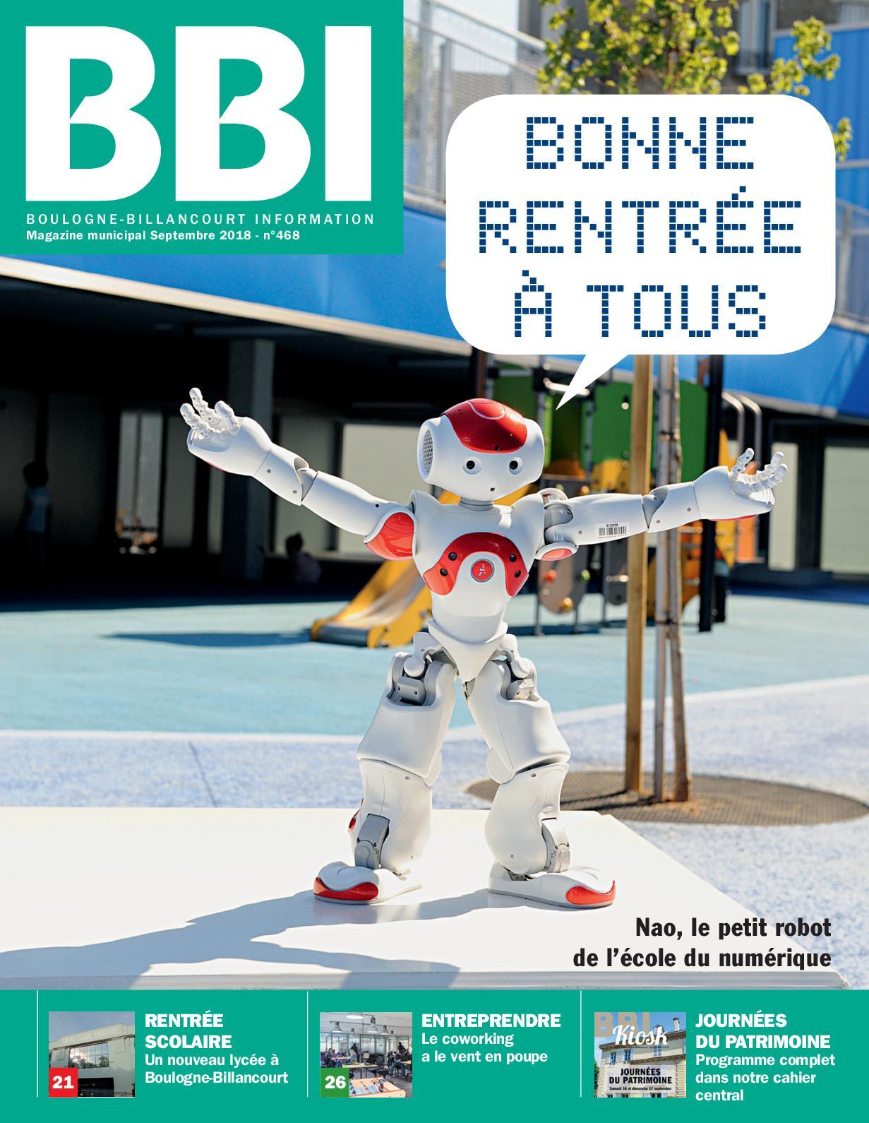 Boulogne Billancourt Septembre Information Calaméo 2018 2HD9IE