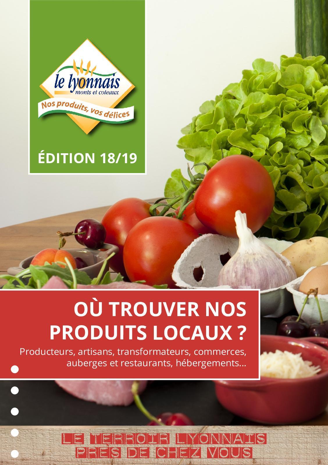Où trouver nos produits locaux - Edition 18-19