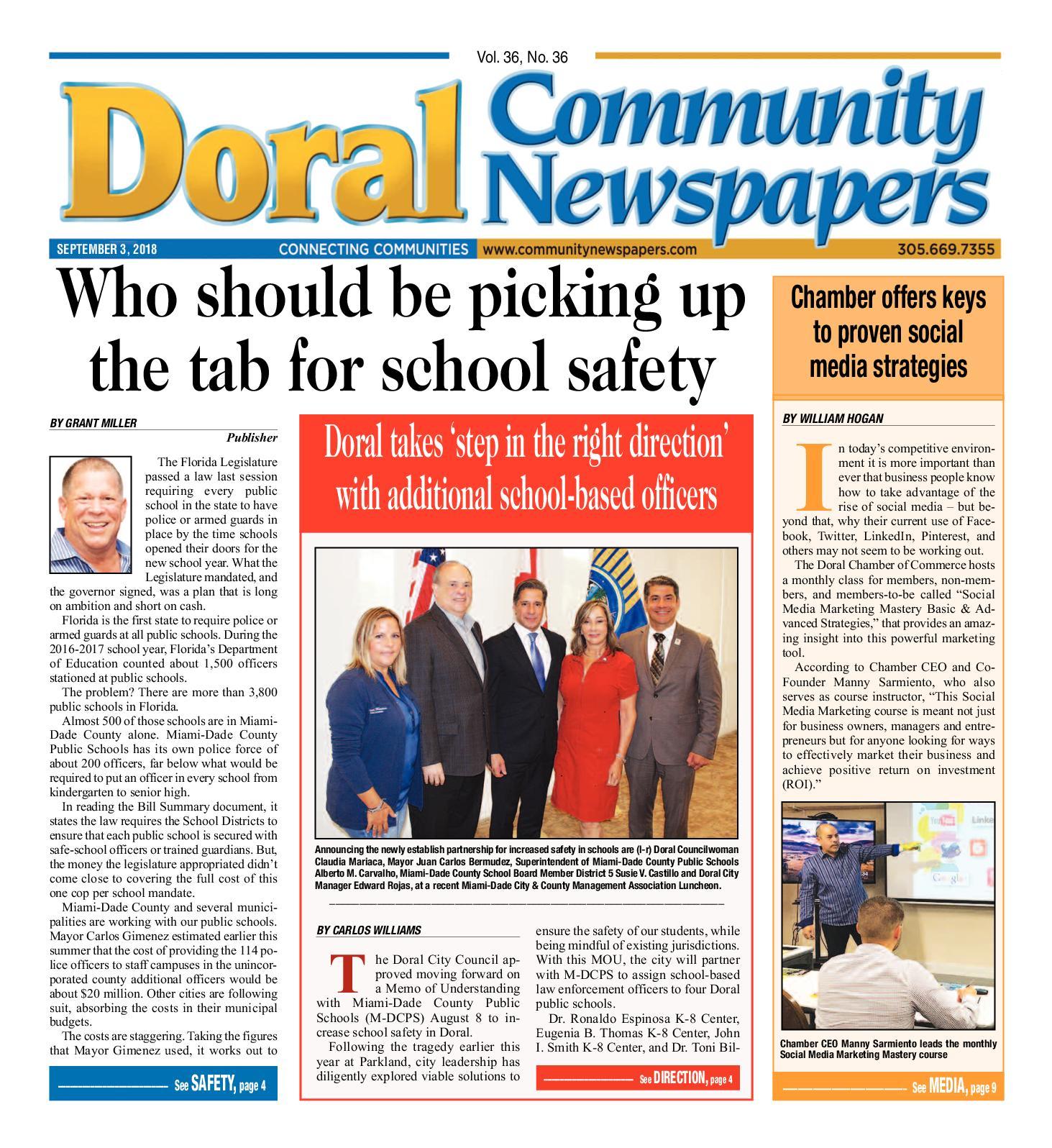 Calaméo - Doral Tribune 9 3 2018