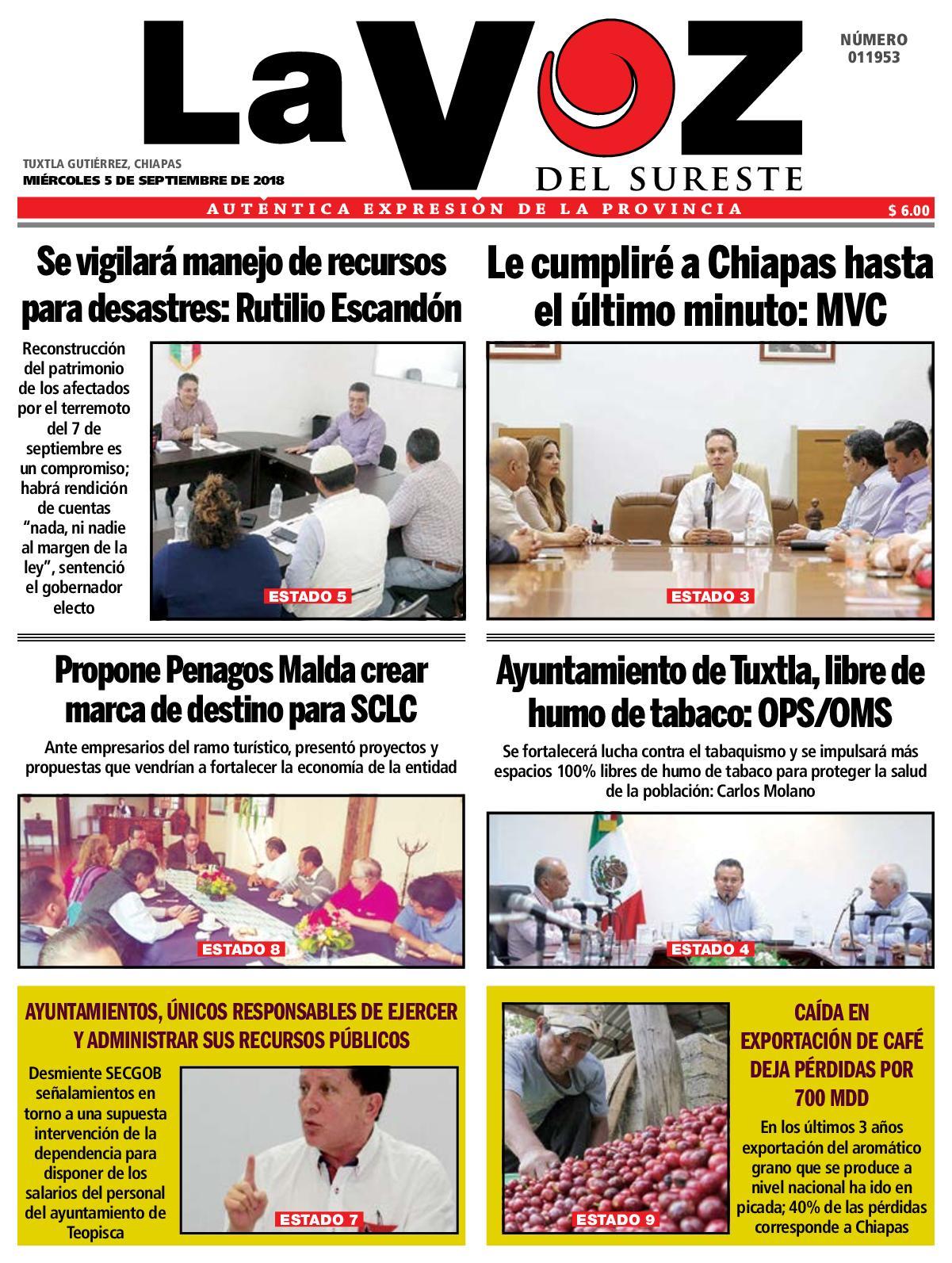 887199cf3a05 Calaméo - Diario La Voz del Sureste
