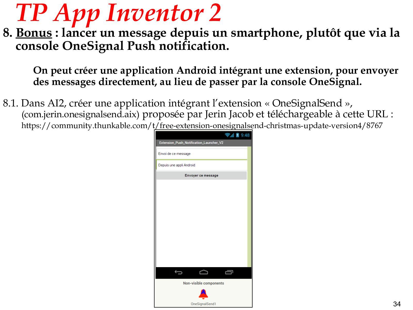 TP APP INVENTOR N°14 - CALAMEO Downloader