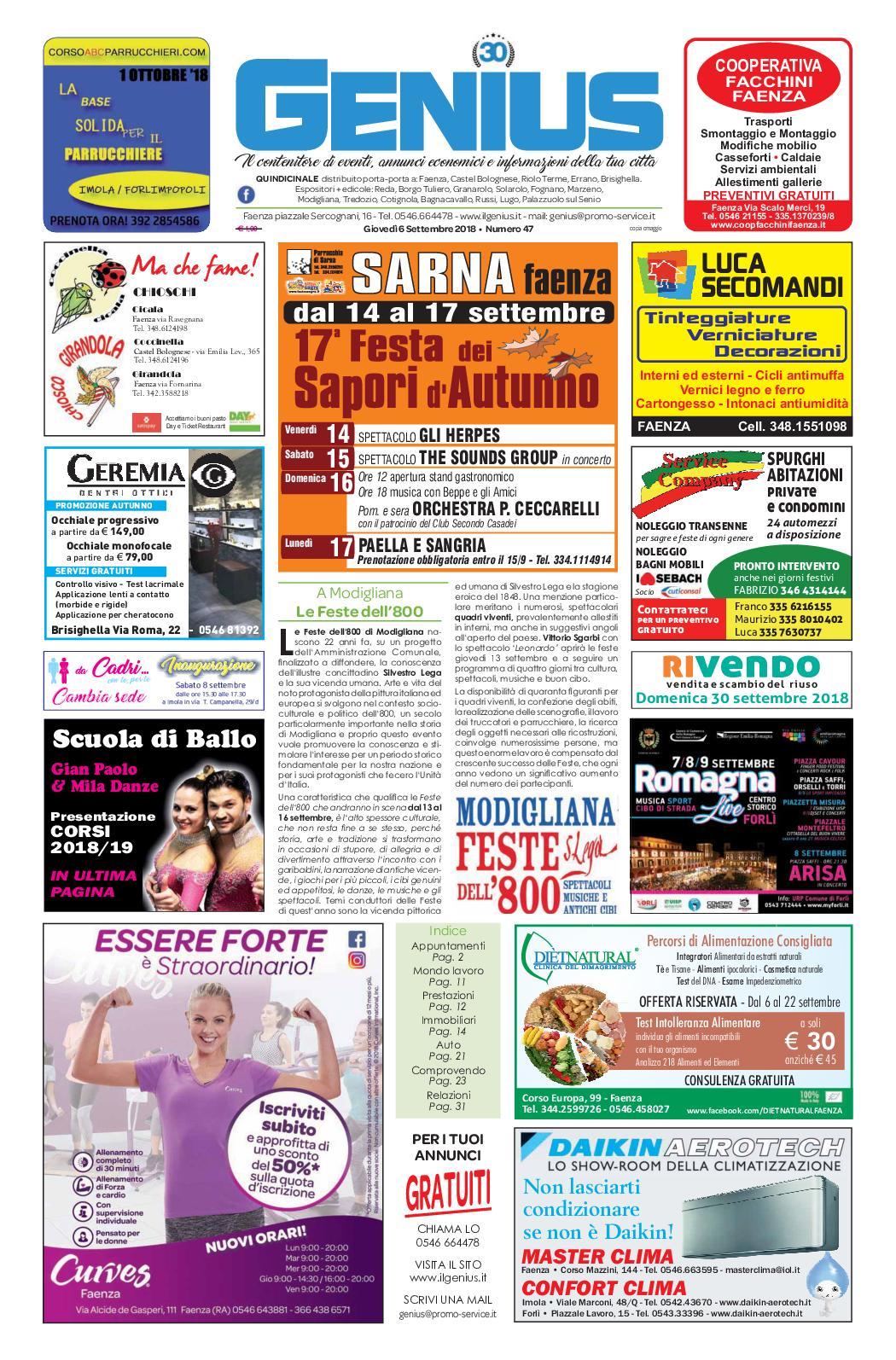 Rivenditori Caminetti Bioetanolo Roma calaméo - num 47 del 6 settembre 2018