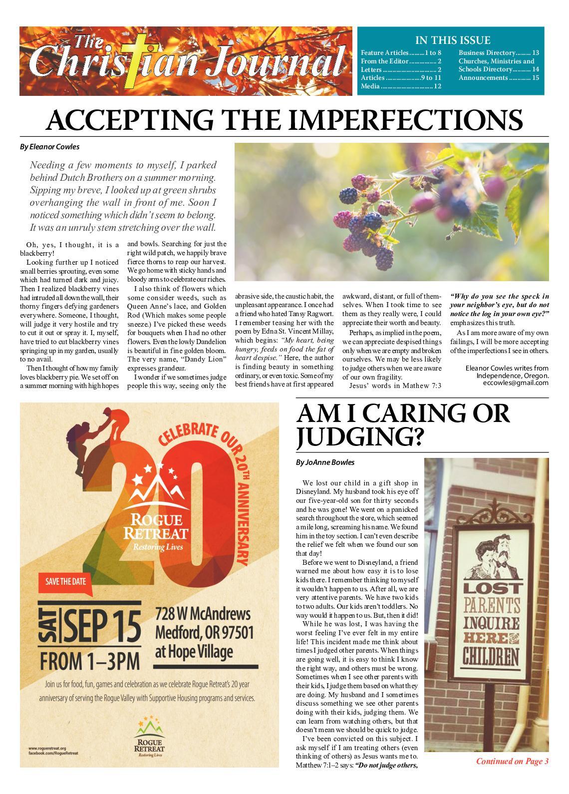 Calaméo - Christian Journal September 2018