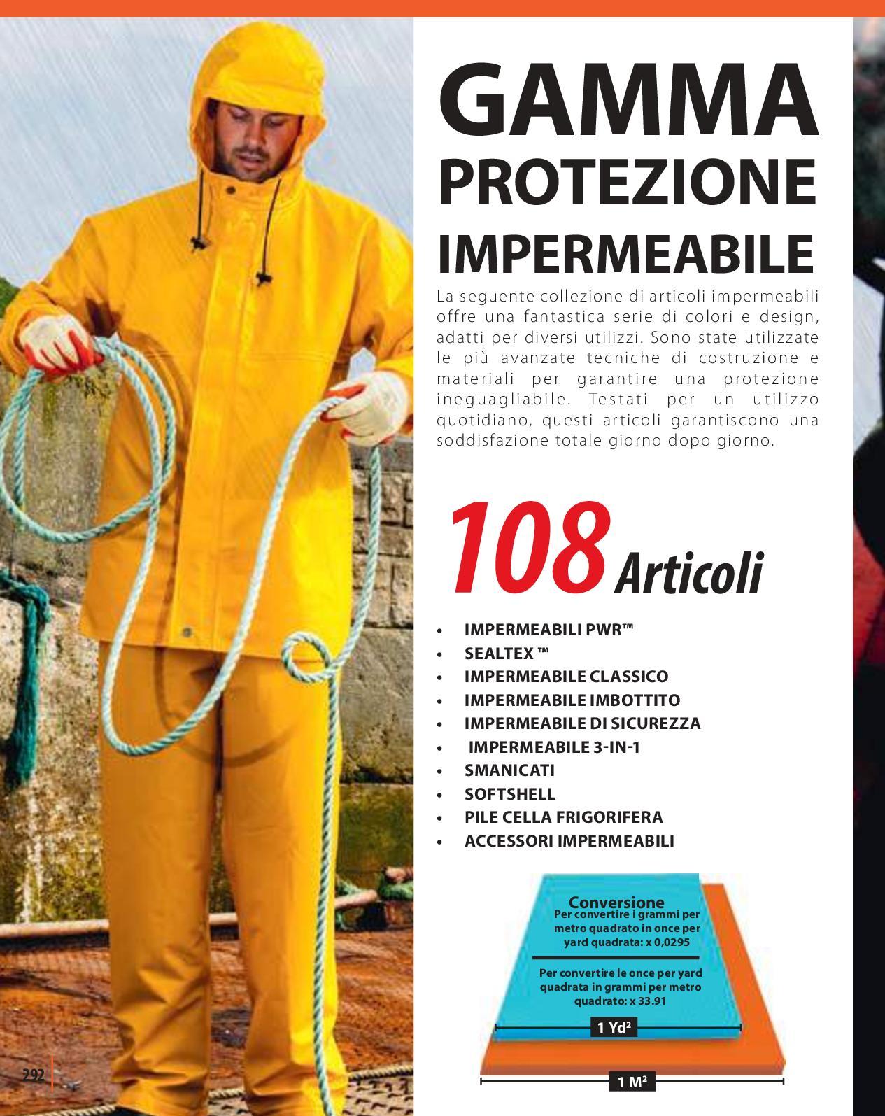 Portwest A185 DUO-THERM Da Uomo Guanti da lavoro lattice di imballaggio generale di protezione a mano