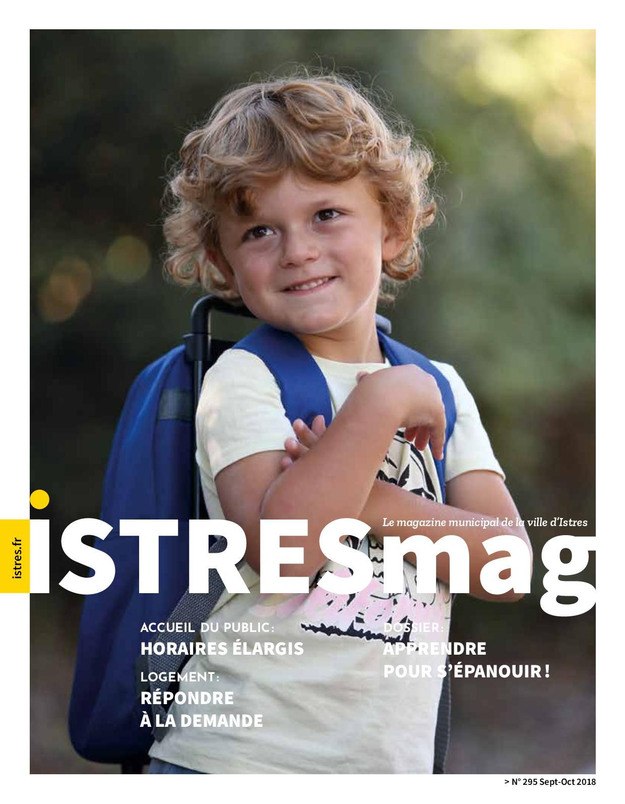 Calaméo - Istres Mag N°295 - Sept Oct 2018 5a7fdebacb3