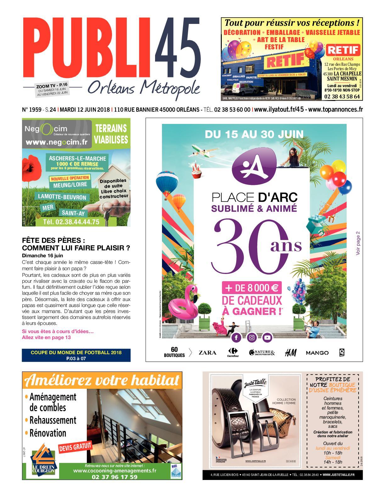 Envia Cuisine Fleury Les Aubrais calaméo - publi45 s24 12062018