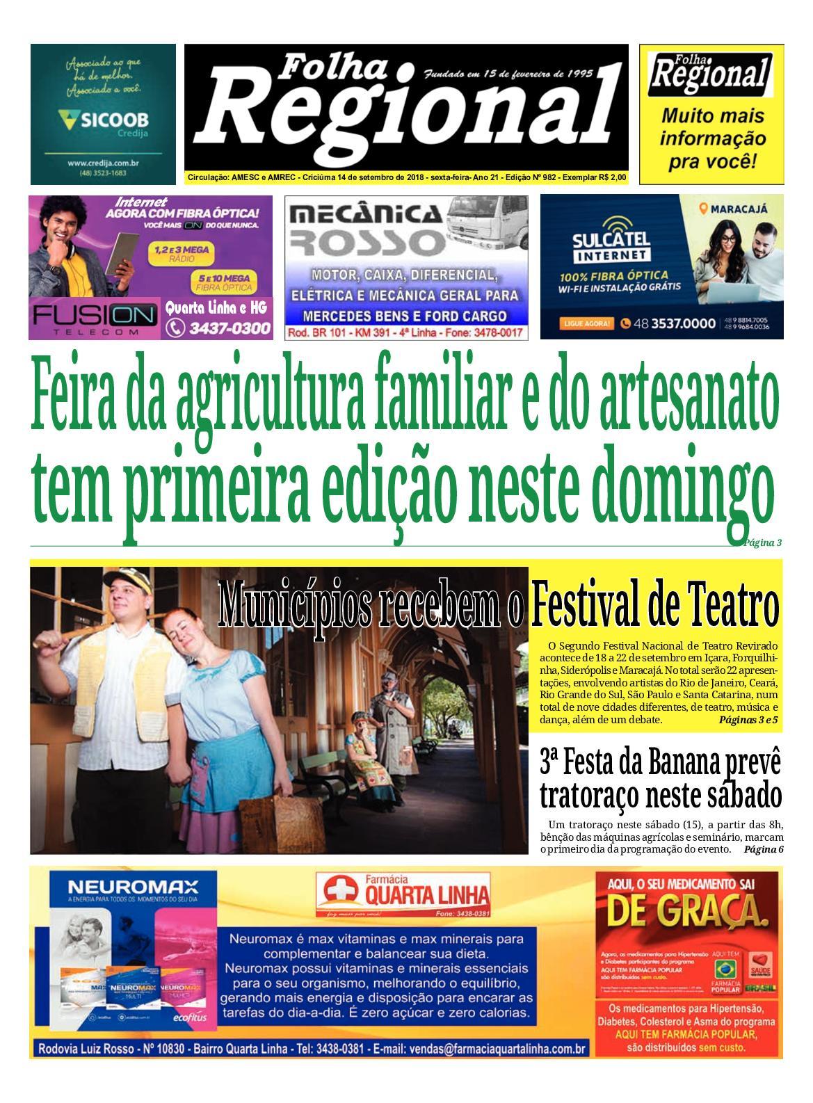 e47bff2a17e15 Calaméo - Folha Regional Ed.982 - 14 09 2018