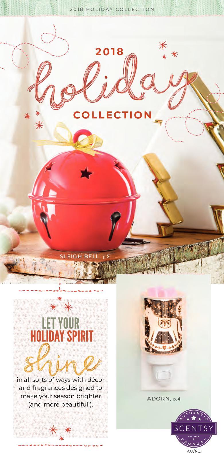 Calaméo 2018 Scentsy Australianz Christmas Collection