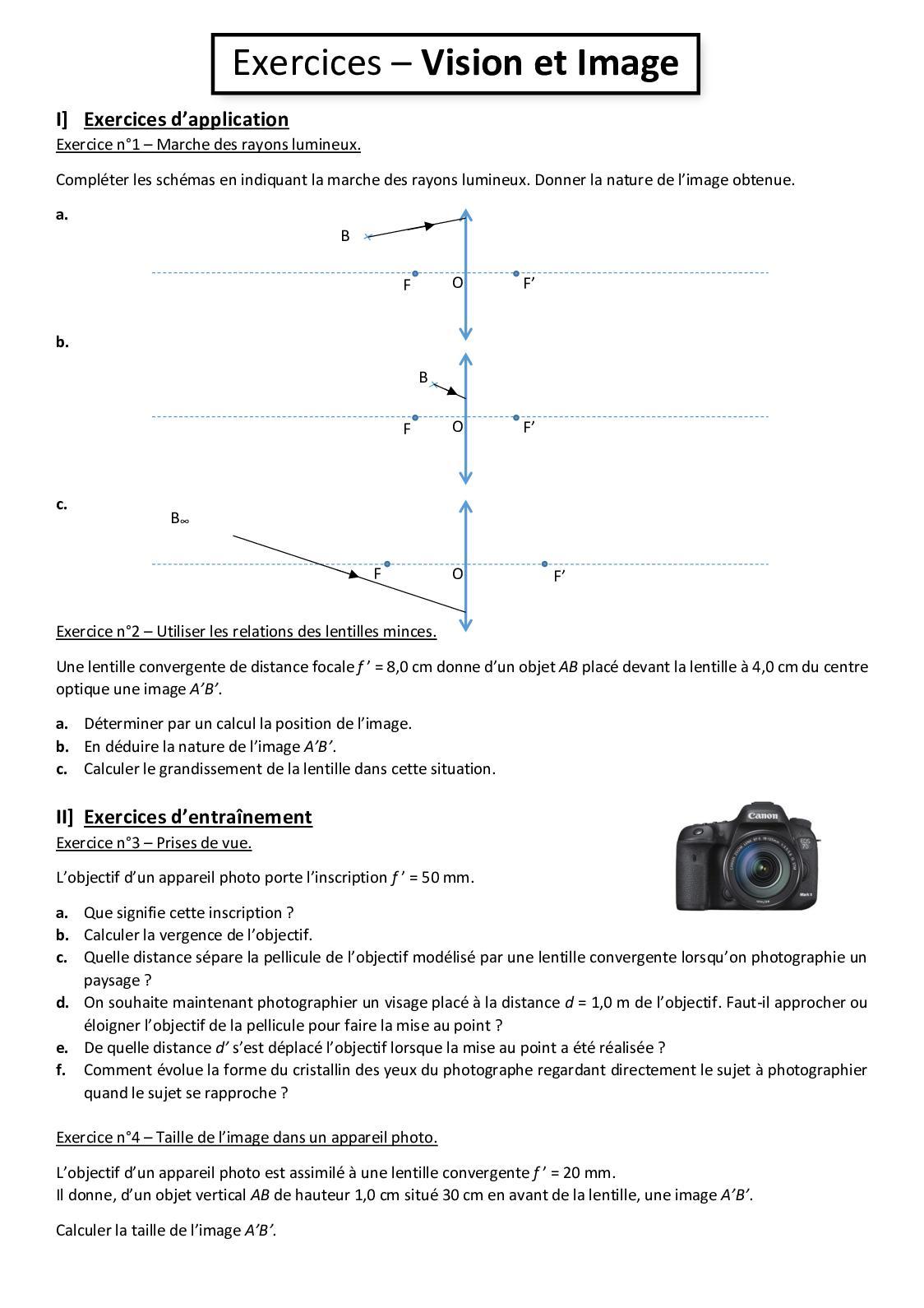 Calaméo - C01 Exercices Corrigés