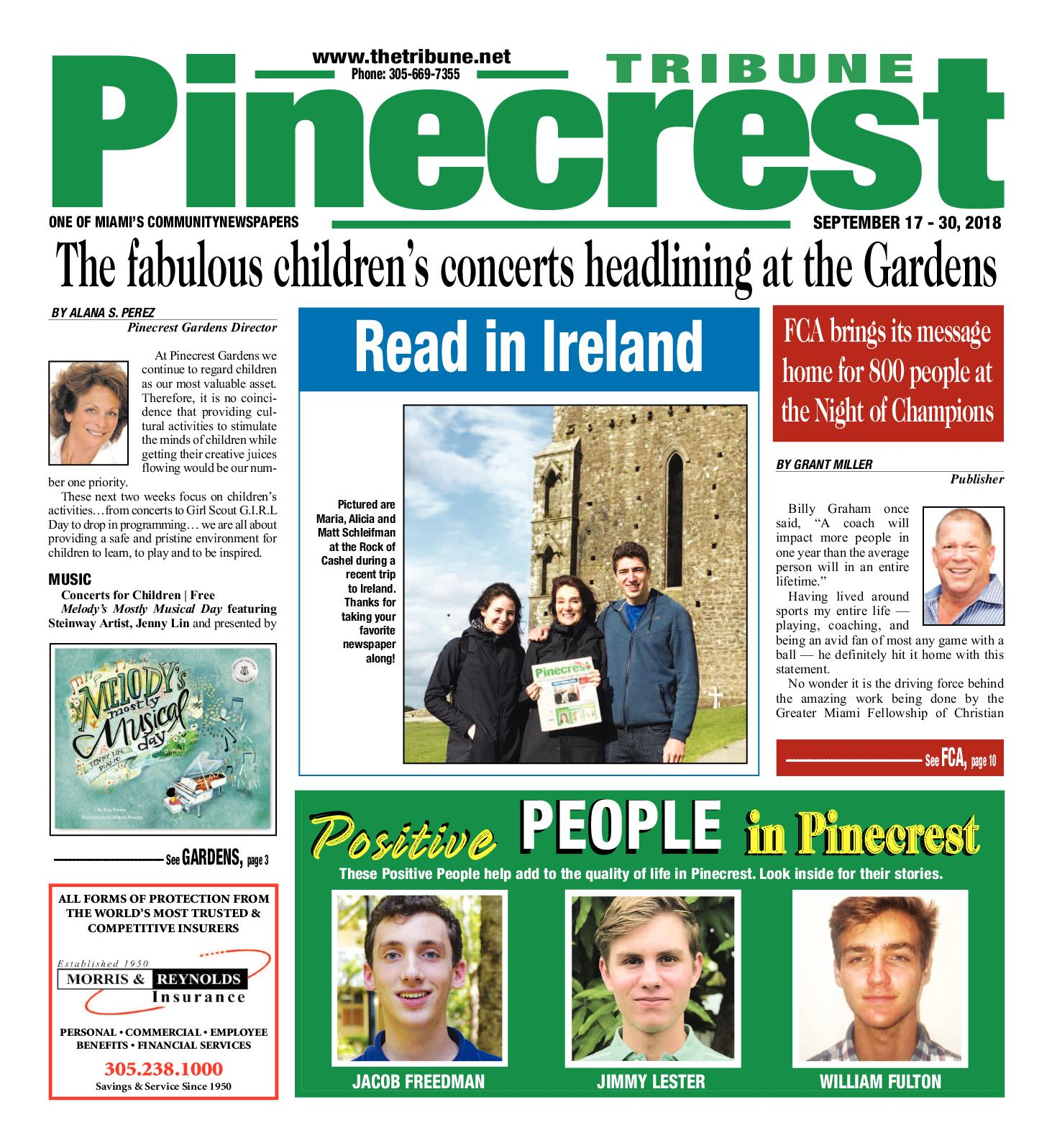 Calaméo - Pinecrest Tribune 9 17 2018