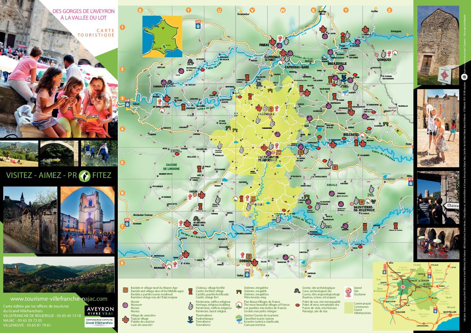 gorges de l aveyron carte 2018 Set Carte Gorges Aveyron   CALAMEO Downloader
