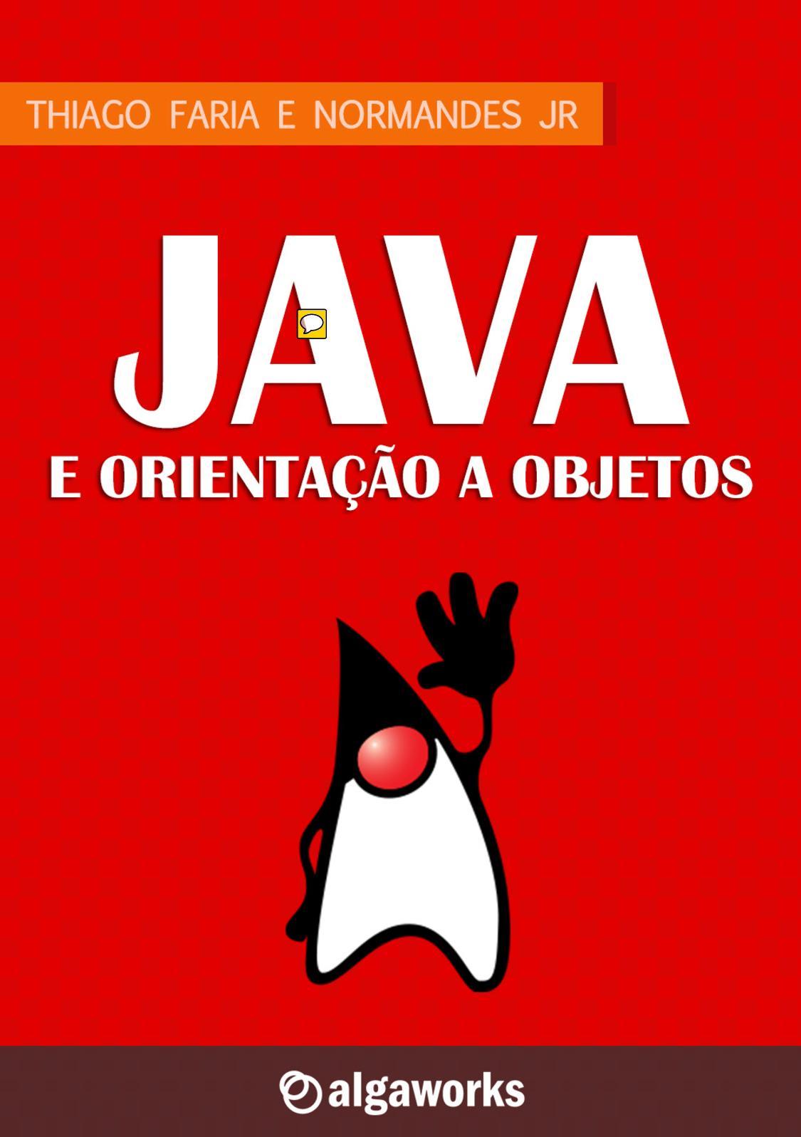 1f7184a36105 Calaméo - Java E Orientação A Objetos