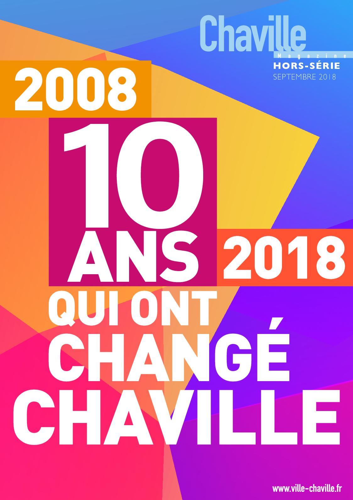 Les Sens Du Bien Etre Chaville calaméo - 2008-2018 : 10 ans qui ont changé chaville