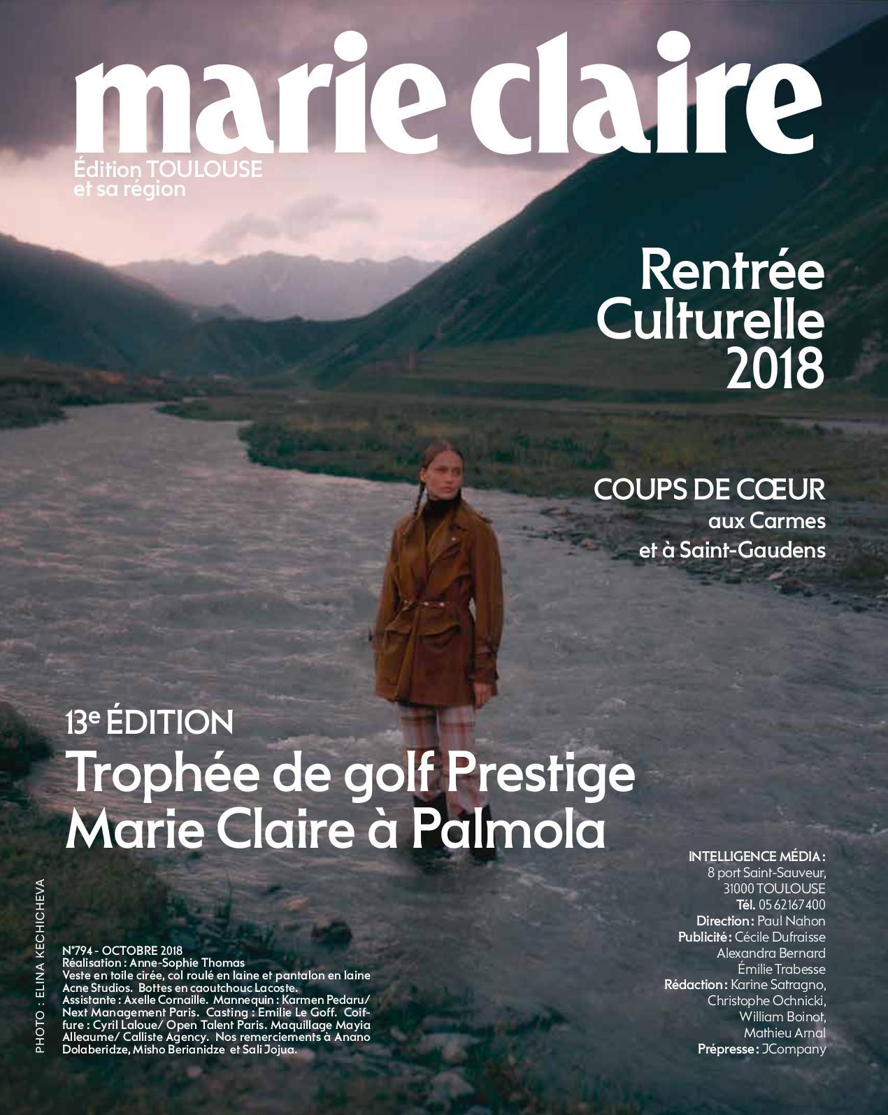 Calaméo - N°794 Marie Claire Midi Pyrénées Octobre 2018 b34caa63beb