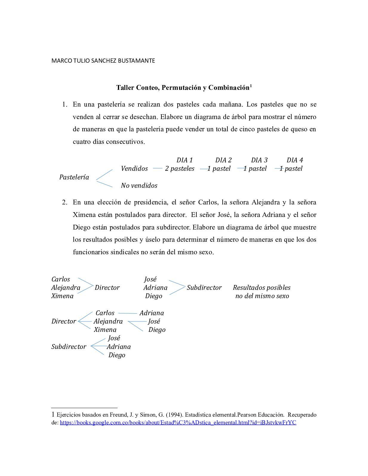 Estadistica Inferencial Ejercicios 2