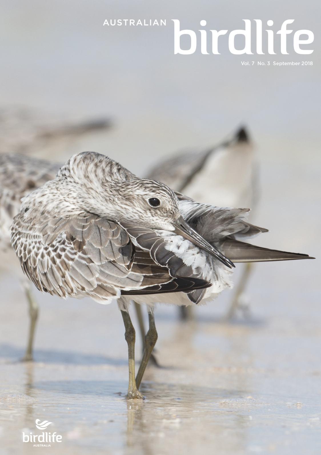 Australian Birdlife September 2018