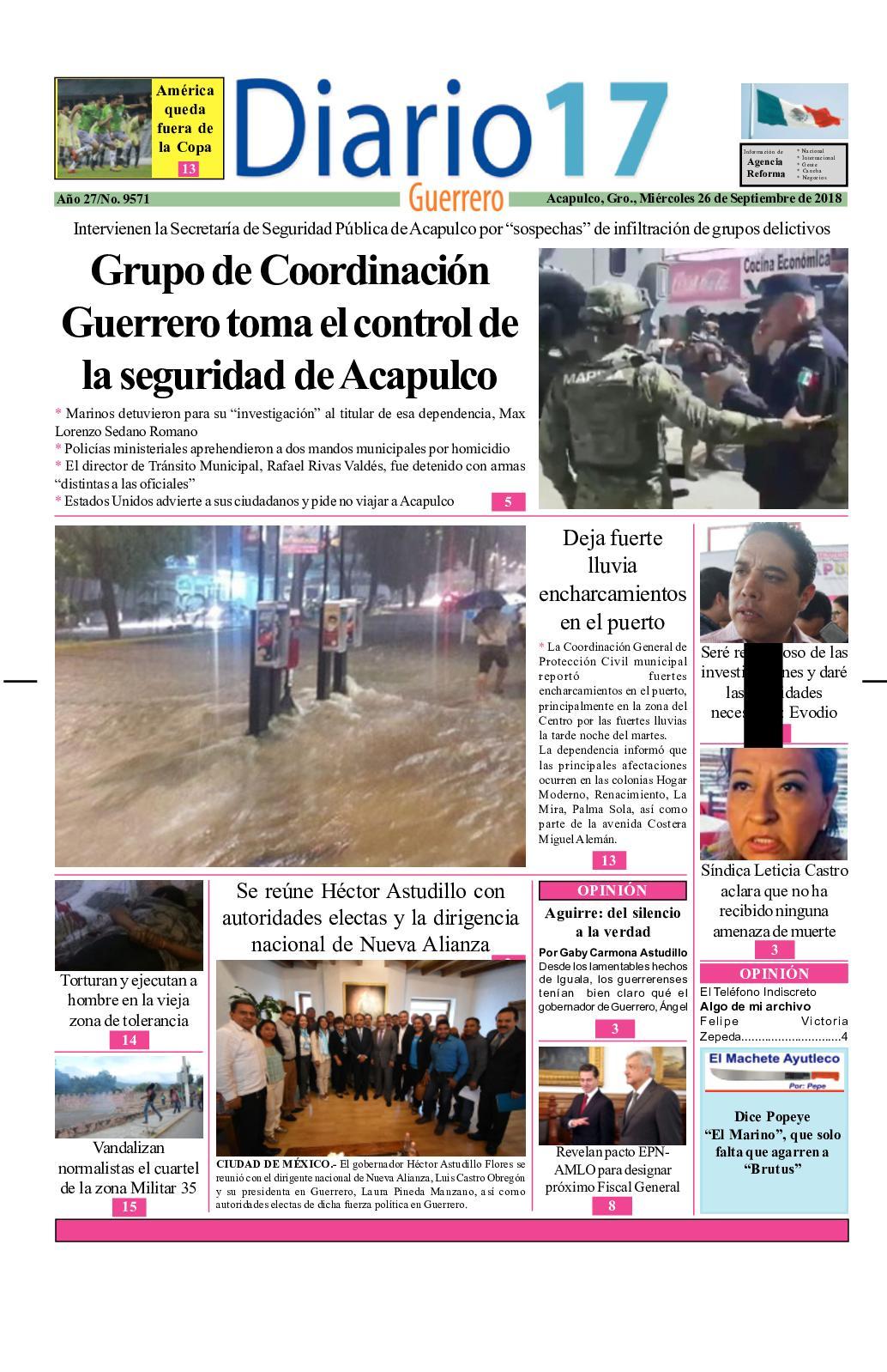 7a3f76d7af Calaméo - Diario 17 Guerrero