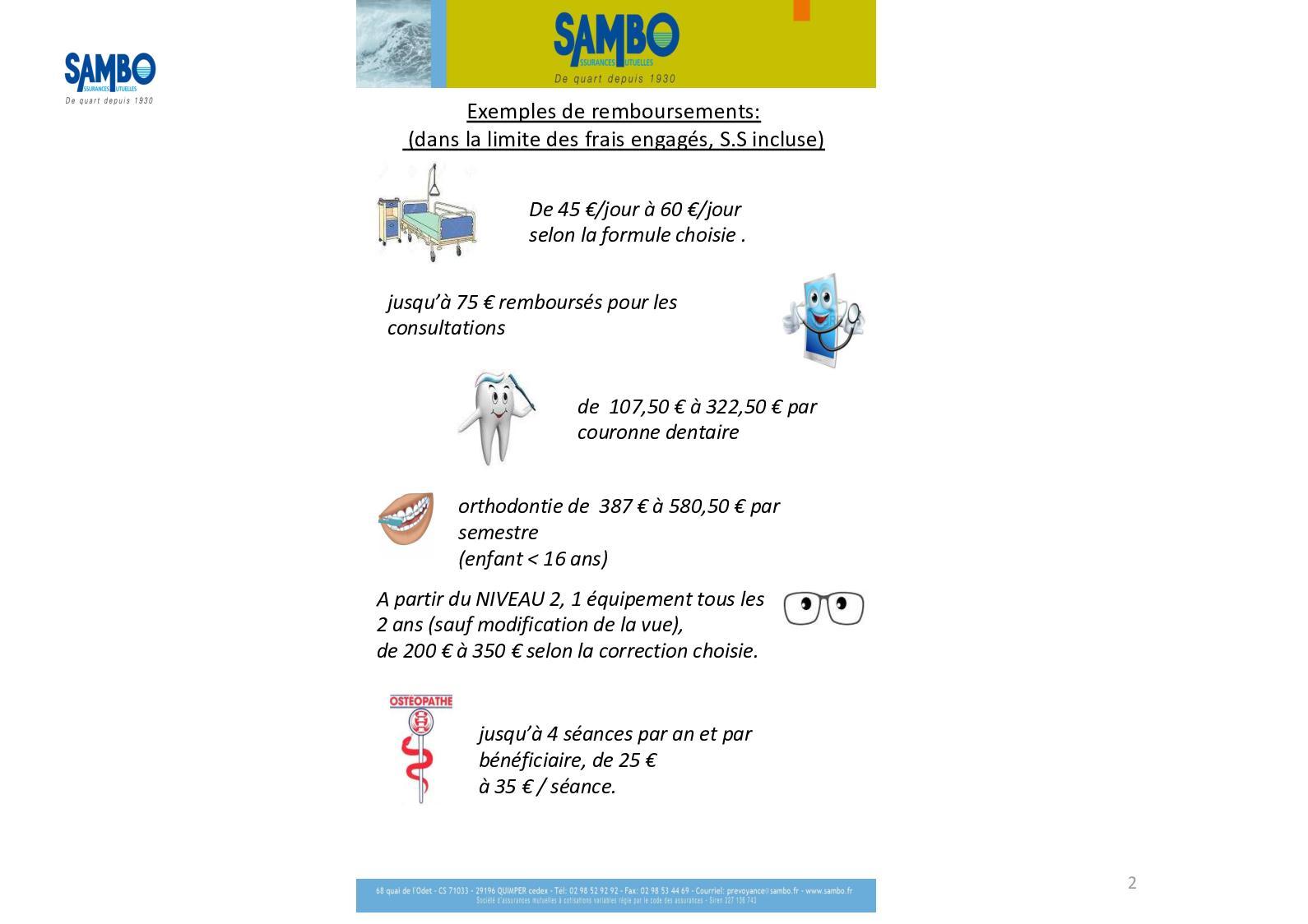 b911a1ae3f894 Calaméo - Exemples de remboursements proposés par la société Sambo