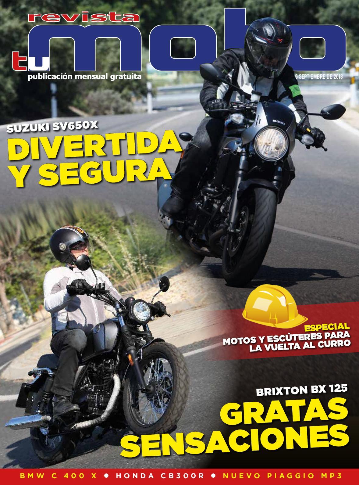 e2ce2504 Calaméo - Revista Tu Moto Mes De Septiembre De 2018 Número 66