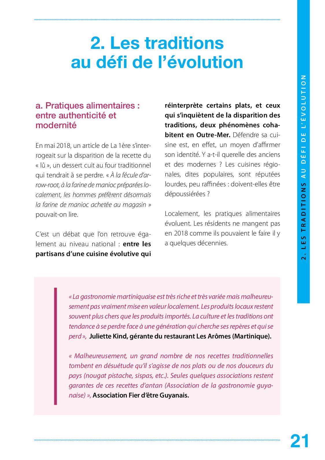 Rapport Gastronomie Majorine Calameo Downloader