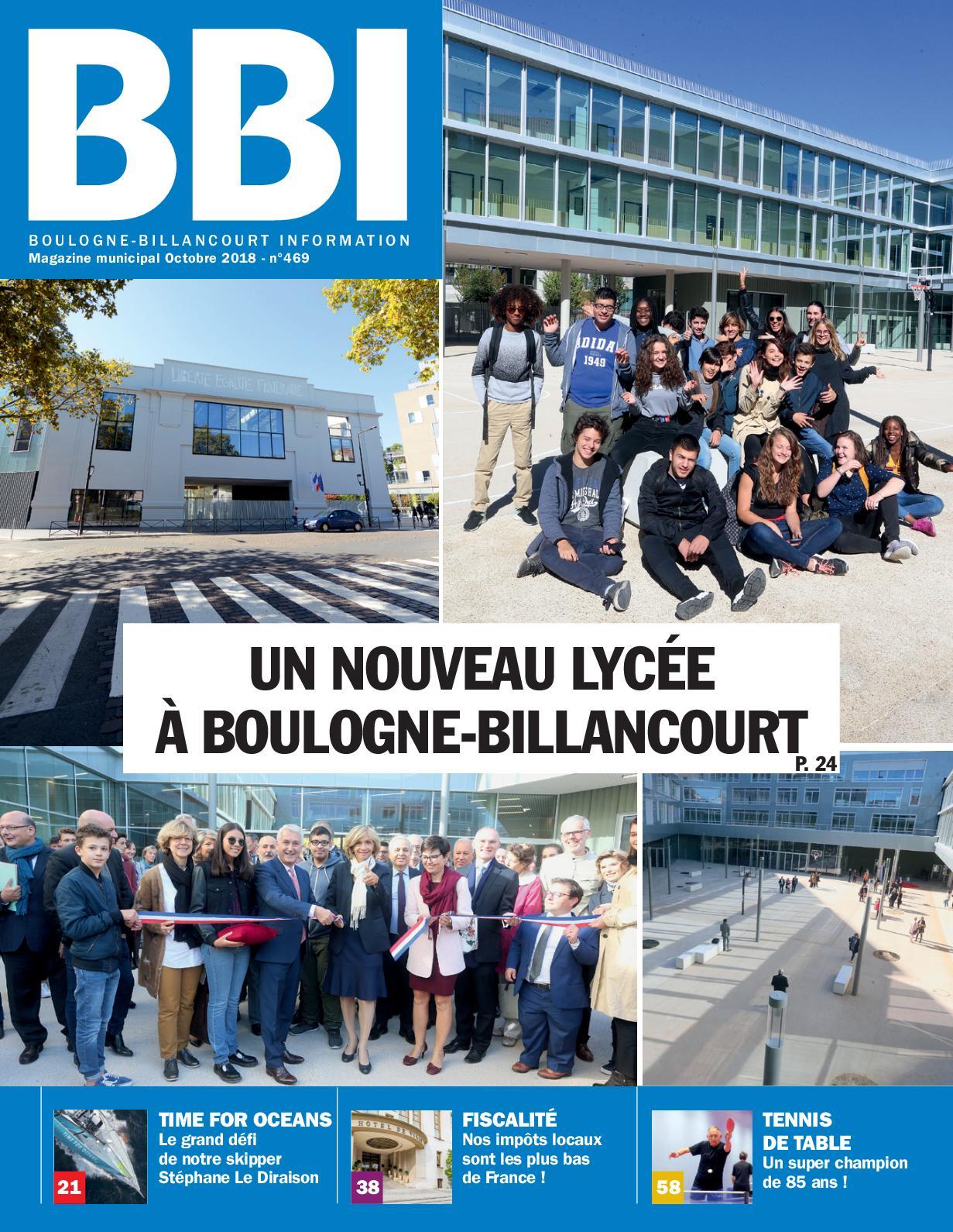 Billancourt Boulogne 2018 Information Calaméo Octobre nwv8mNO0