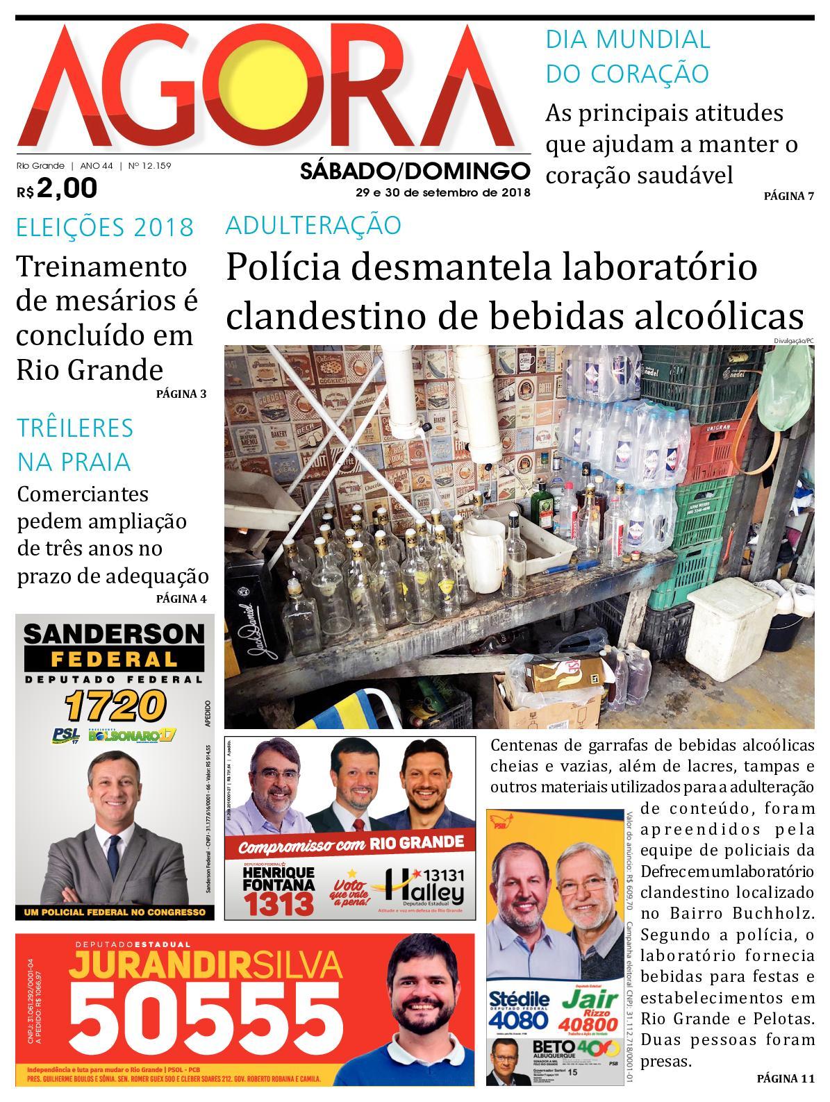 7b6bdb88c Calaméo - Jornal Agora - Edição 12159 - 29 e 30 de Setembro de 2018
