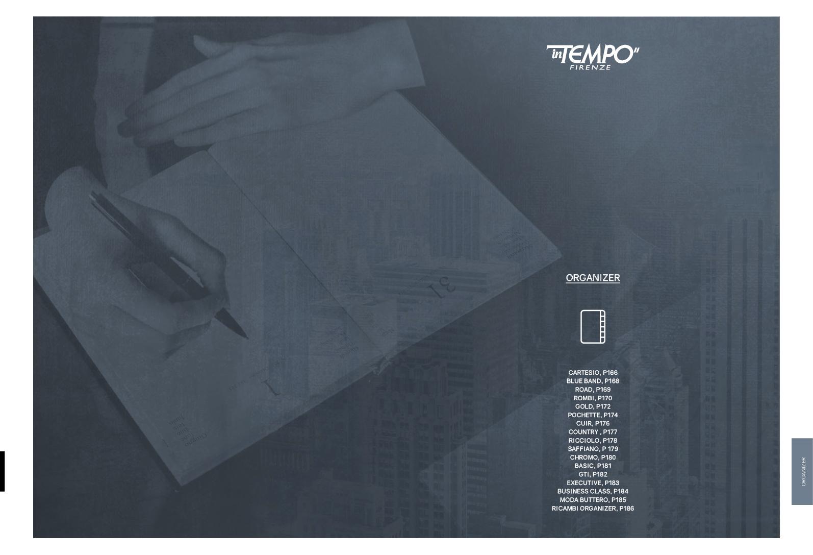 RICAMBIO 2019 CALENDARIO SETTIMANALE Large 14x21,5 cm intempo