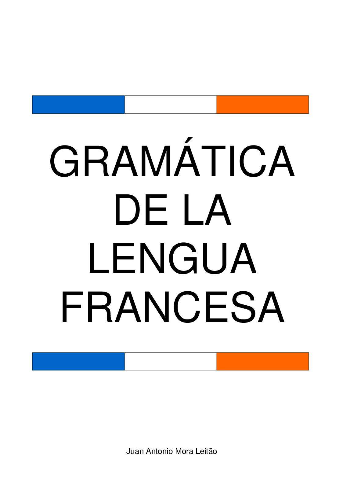Calaméo Libro De Gramatica Francesa
