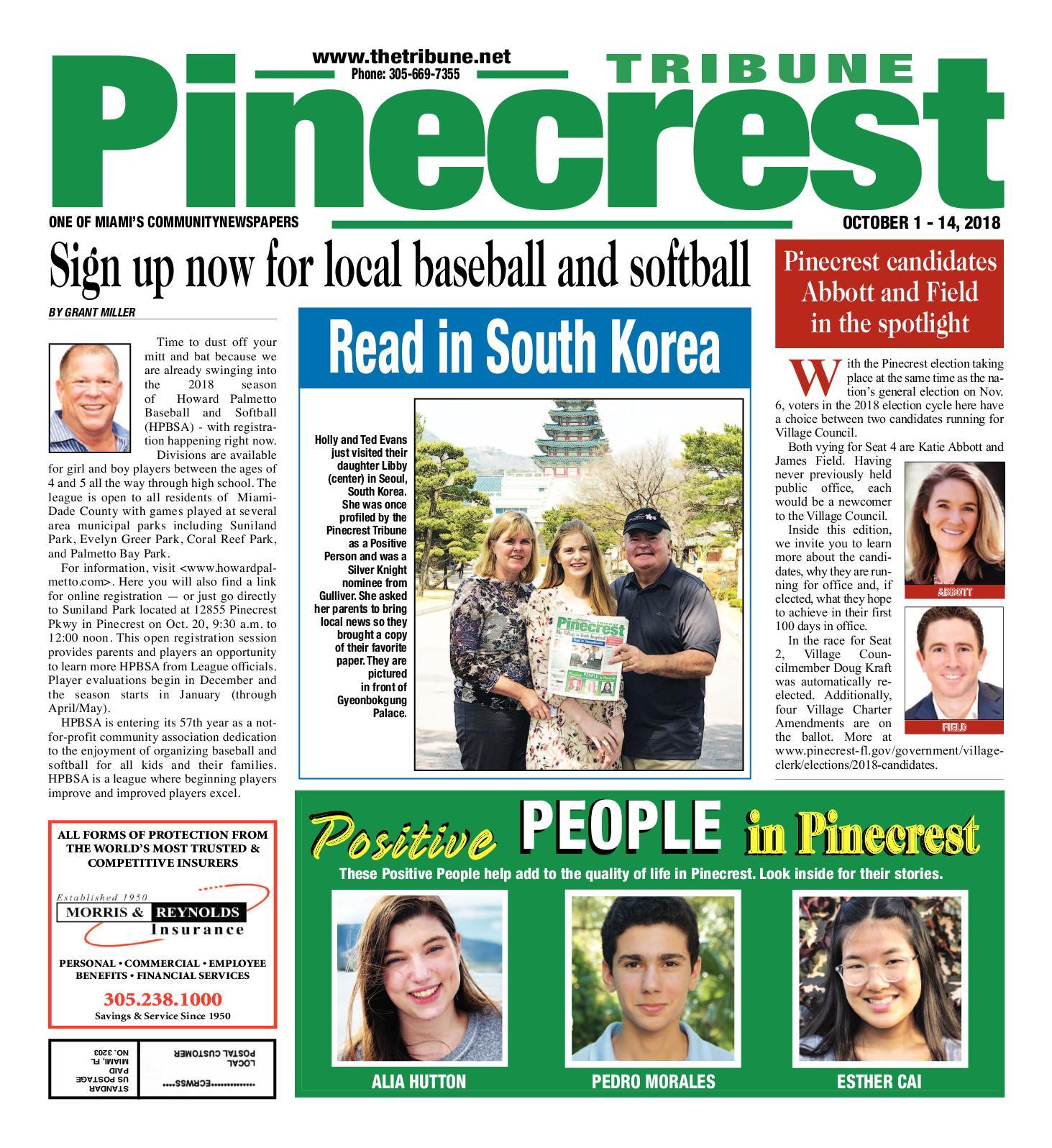 Calaméo - Pinecrest Tribune 10 1 2018