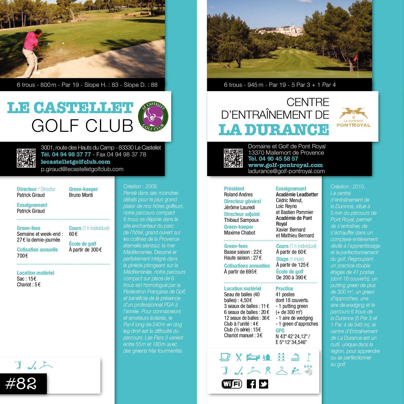 Guide Des Golfs Paca 2018 Calameo Downloader