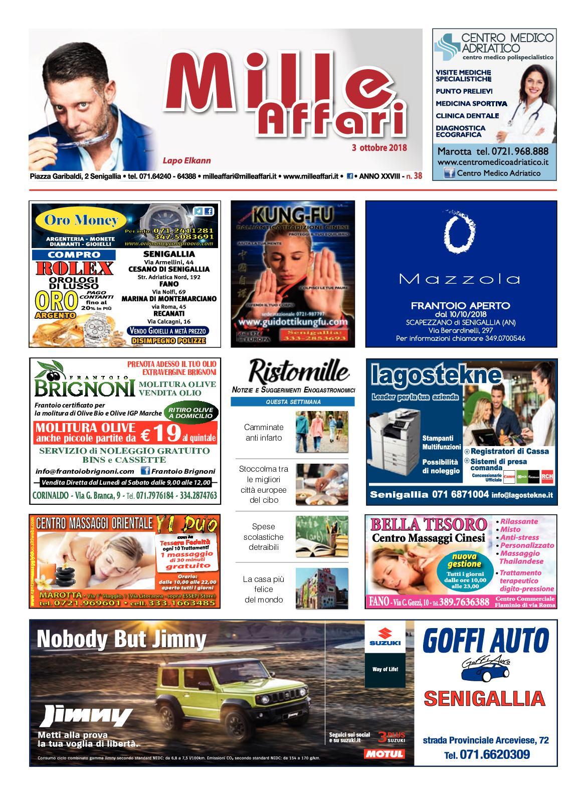 Calameo Milleaffari N 38 Del 03 10 18