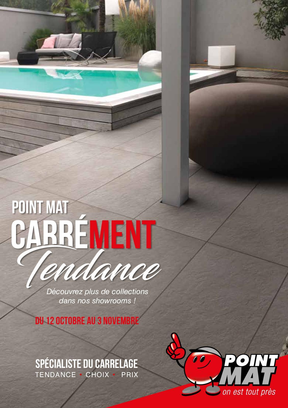 Calameo Point Mat Carrement Tendance Catalogue Promo Carrelage 1018